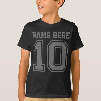10de Verjaardag (de Naam van het Klantgerichte T Shirt