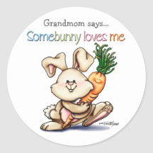 10x10-sommige-konijntje ronde stickers