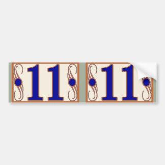 11 Maguire Huisnummers 2 Bumpersticker