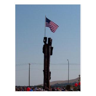 11 september Gedenkteken in Kennewick Washington Briefkaart