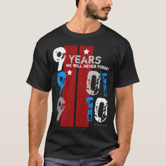 11 september Geheugen in 9 Jaar van de Zwarte T Shirt