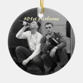 11de Afdeling In de lucht Rond Keramisch Ornament