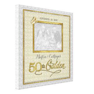 11x11-duim de Gouden 50ste Foto van het Jubileum Gallerij Wrap Canvas