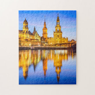 11x14 het Raadsel van de foto met de Doos Dresden Puzzel