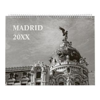 12 maanden van de Kalender van Madrid