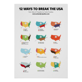12 manieren om de V.S. te breken Poster