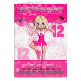 12de Verjaardag Cheerleader die, Sterren in Pinks Kaart