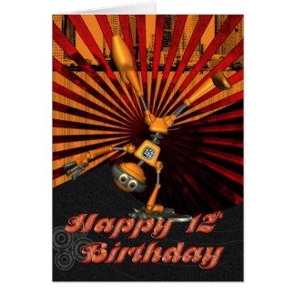 12de Verjaardag, de Kaart van de Verjaardag van de