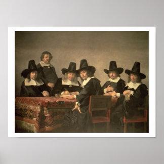 131-0635449 de Managers van het Weeshuis van Haarl Poster