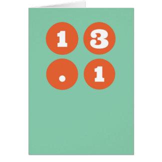 13.1 halve Marathon Briefkaarten 0