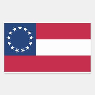13 Stickers van de Rechthoek van de Vlag van de