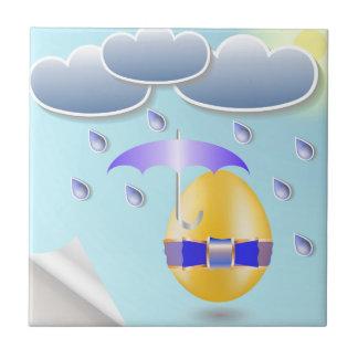 146Easter Egg_rasterized Keramisch Tegeltje