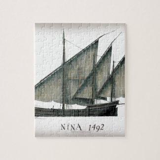 1492 Nina door Tony Fernandes Legpuzzel