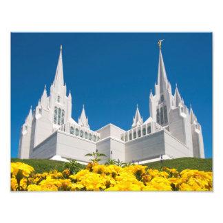 "14 de Tempel van de"" x 11"" Foto LDS San Diego"