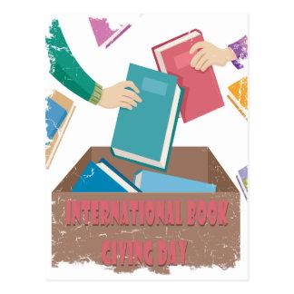 14 Februari - Internationaal Boek die Dag geven Briefkaart