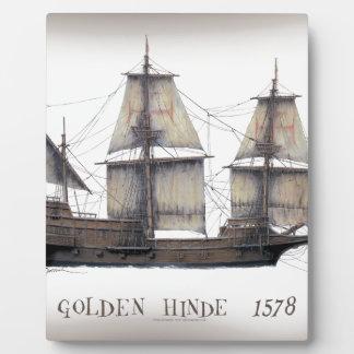 1578 gouden Hinde Fotoplaat