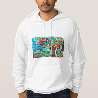 158 stijlen 255 MANTRA van kleurenOM de yogagift Hoodie