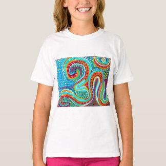 158 stijlen 255 MANTRA van kleurenOM de yogagift T Shirt