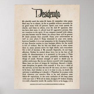 1692 - Wensen Poster