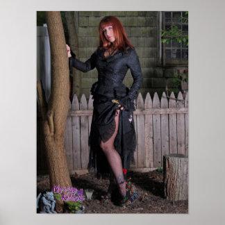 """16 de Boom van Witchy van de Katjes van"""" X12"""" Poster"""