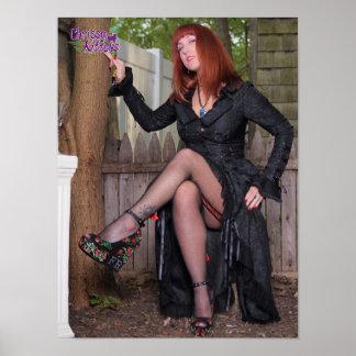 """16 de Dijen van Witchy van de Katjes van"""" X12"""" Poster"""