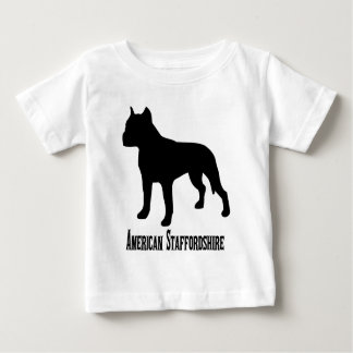 1715112006 Amerikaanse Staffordshire Terrier Baby T Shirts