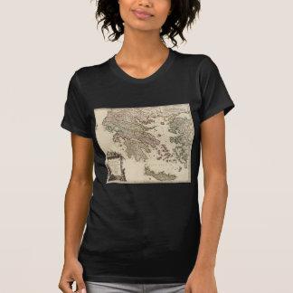 1752 kaart van Oud Griekenland T Shirt