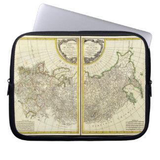 1771 de Kaart van Rigobert Bonne van Rusland Computer Sleeve