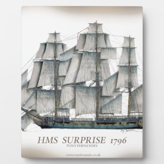 1796 HMS verrassen oud Fotoplaat