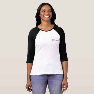17 voor altijd Voorzijde T Shirt
