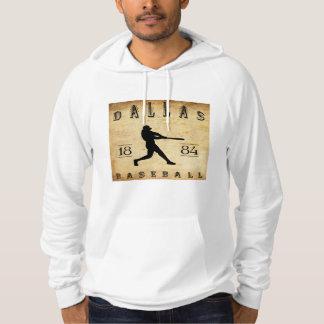 1884 het Honkbal van Dallas Texas Hoodie