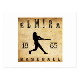 1885 Elmira New York Honkbal Briefkaart