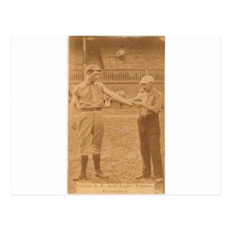 1887 Harry Lyon en Billy Taylor Briefkaart