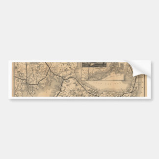 1888_Old_Colony_Railroad_Cape_Cod_map Bumpersticker