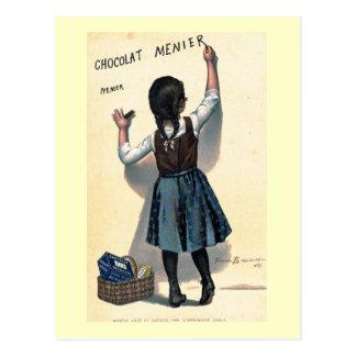 1893 het vintage Franse Poster van de Advertentie Briefkaart