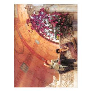 1893 Lawrence Alma-Tadema - Onbewuste Rivalen Alm Briefkaart