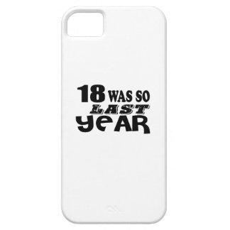 18 zo was zo vorig jaar het Design van de Barely There iPhone 5 Hoesje