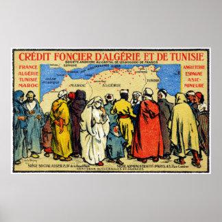 1900 het Noorden Afrikaans Credit Union Poster