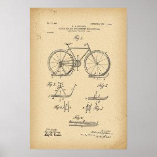 1904 de agentgehechtheid van de Ar van het Octrooi Poster
