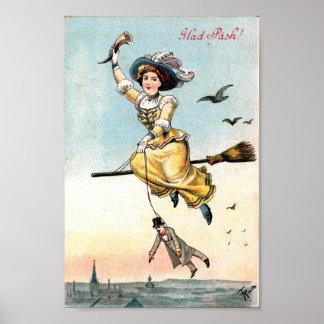 1905 de Heks van Pasen Poster