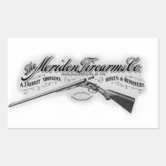 1908 het Overdrukplaatje van het Logo Rechthoekige Sticker