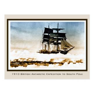 1910 Expeditie Scott aan de Antarctis van de Nova Briefkaart