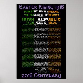 1916 het Toenemen Honderdjarig 2016 van Pasen Poster
