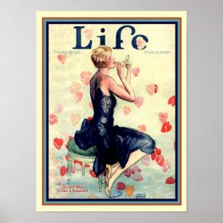"""1927 brak de Dekking """"Who van Deco van het Leven Poster"""