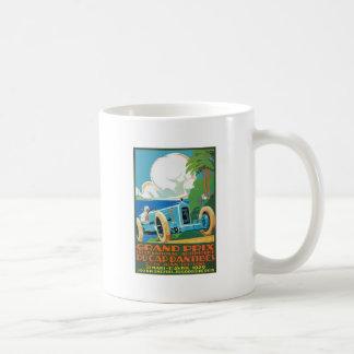 1929 het Rennen van de Grand Prix van D'Antibes Koffiemok