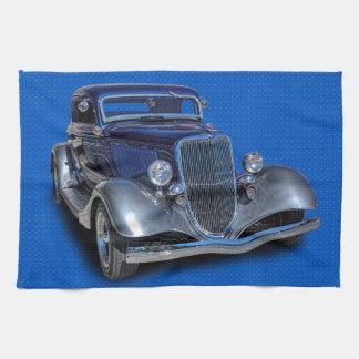 1934 VINTAGE AUTO THEEDOEK
