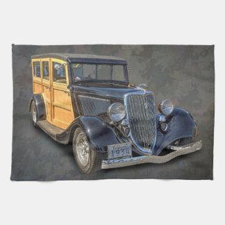 1934 VINTAGE WOODIE THEEDOEK