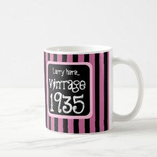 1935 Wijnoogst of Om het even welke STREPEN van Koffiemok