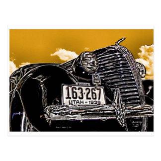 1938 het Automobiele Briefkaart van de Vintage