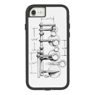 1939 de Parijs Evenwichtige Saxofoon van de Actie Case-Mate Tough Extreme iPhone 8/7 Hoesje